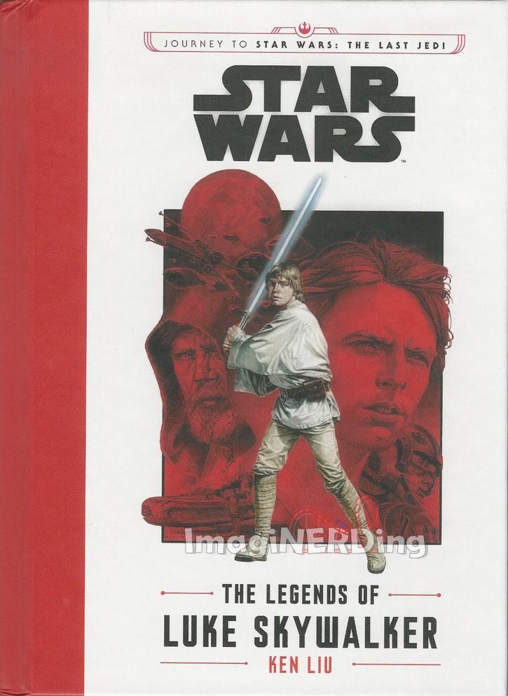 legends of Luke skywalker Star Wars