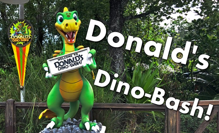 Donald's Dino-Bash at Animal Kingdom!
