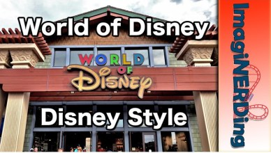 world of disney style