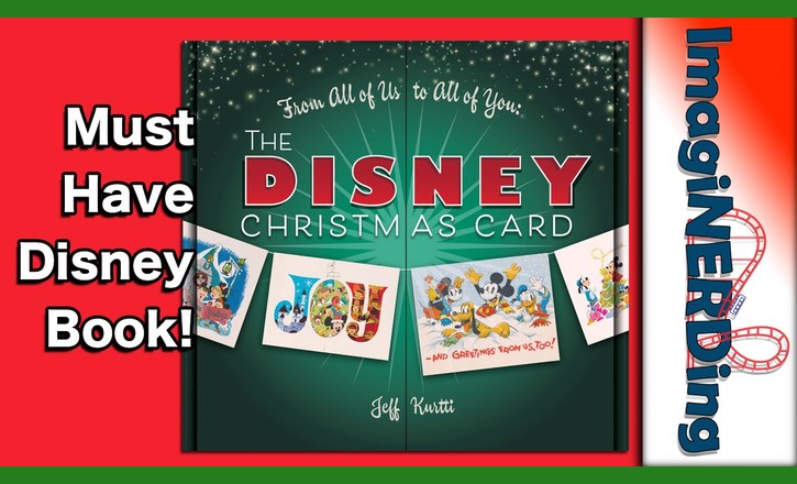 Disney Christmas Card Book by Jeff Kurtti Sneak Peek!