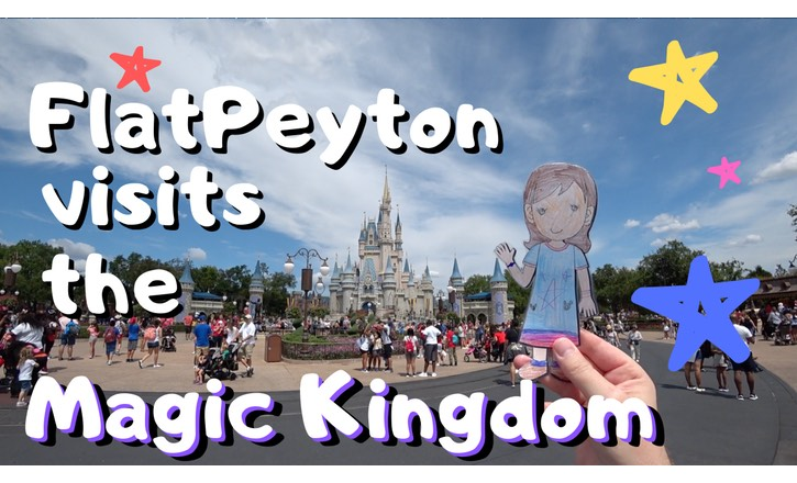 flat peyton-flat-stanley-visits-the-magic-kingdom