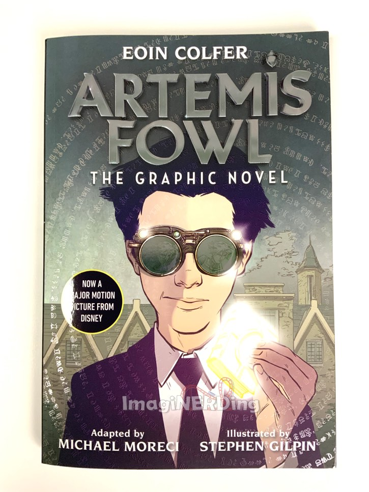 cover of the artemis fowl graphic novel