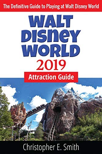 cover of the walt disney world attractions 2019 guide book