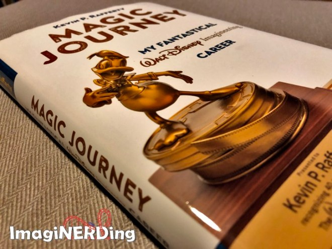 An image of the cover of Magic Journey by Kevin Rafferty