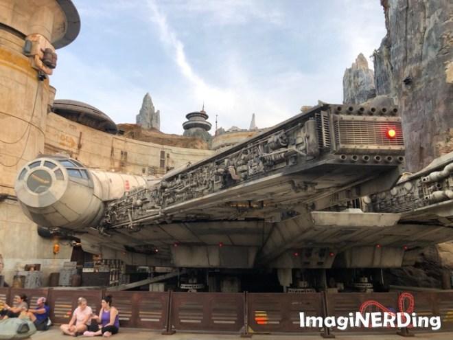 the millennium flacon at Disney's Hollywood Studios