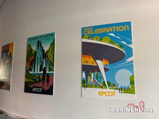 moana journey of water world celebration epcot experience attraction posters