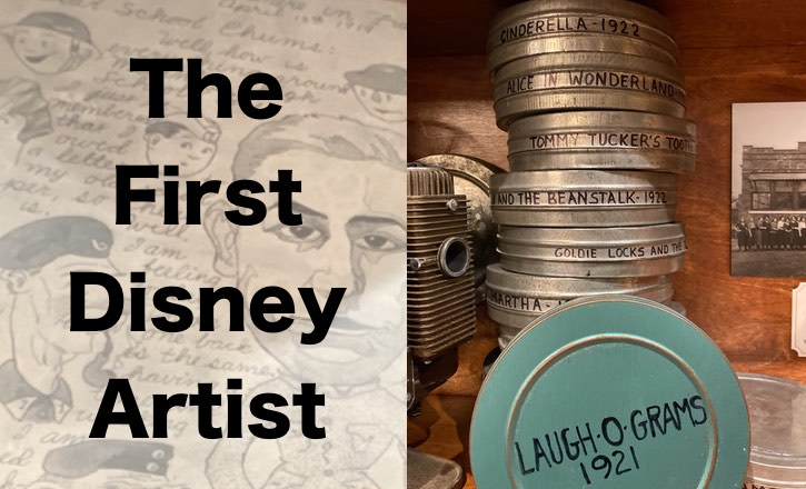 The First Disney Artist Display at EPCOT