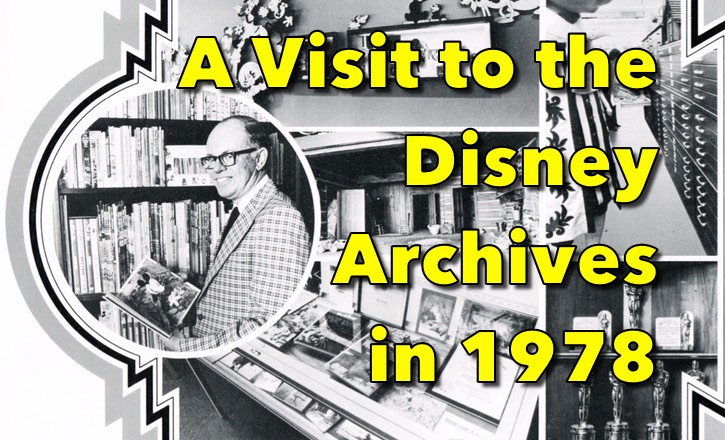 The Disney Archives Article from 1978