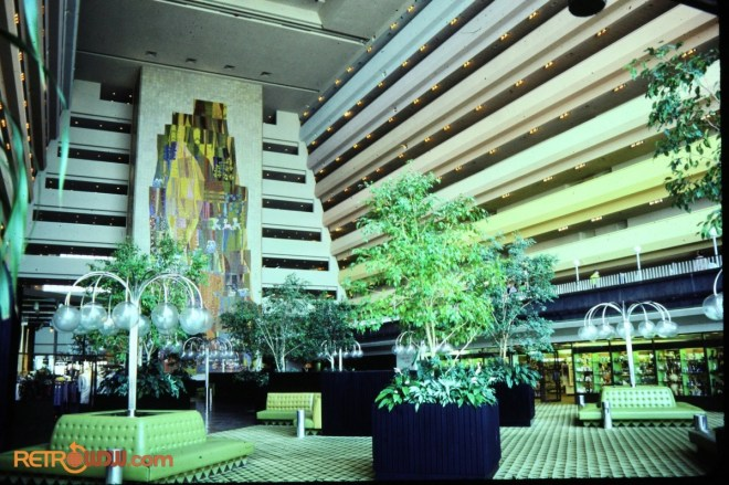The Grand Canyon Concourse at the Contemporary Resort