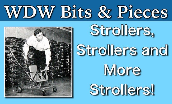 Vintage Strollers at the Magic Kingdom!