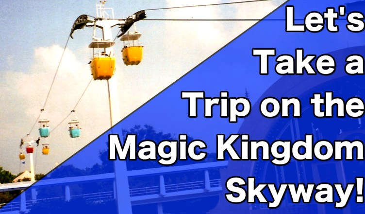 let's take a trip on the magic kingdom skyway