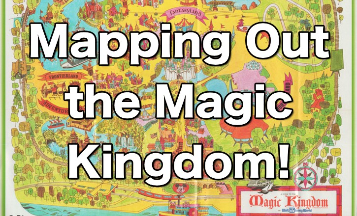 The History of the Magic Kingdom in Maps