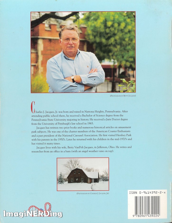 back cover of of HersheyPark: The Sweetness of Success