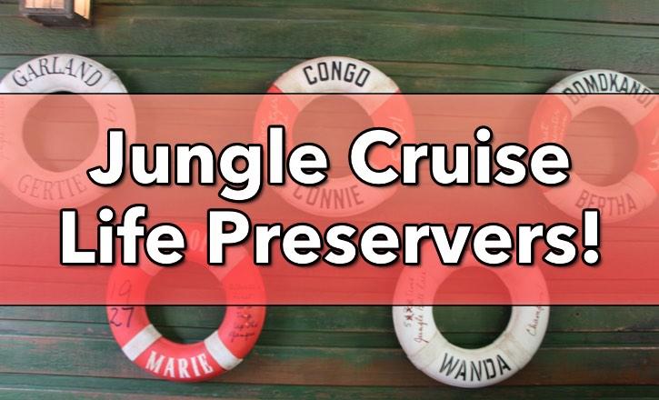 jungle cruise life preservers