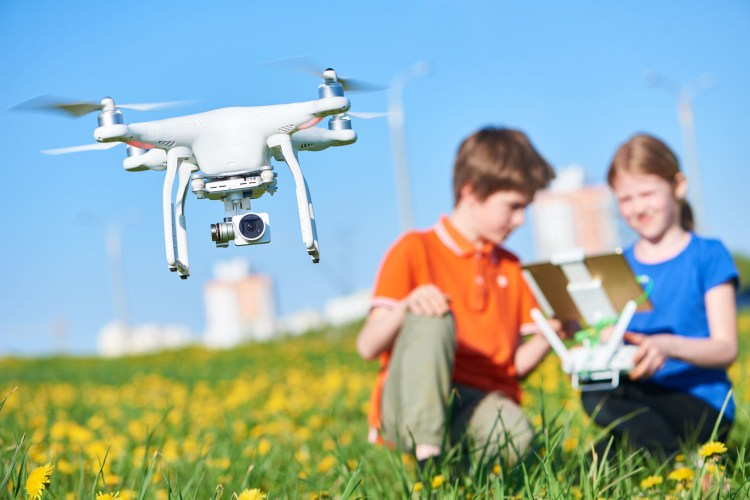 Love Drones and Flight?  Join us for Flight School!