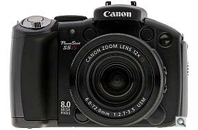 image of Canon PowerShot S5 IS