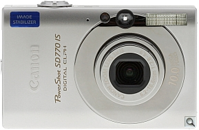 image of Canon PowerShot SD770 IS