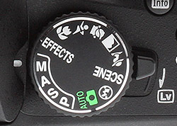 Image result for auto mode nikon dial