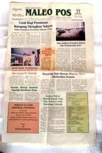 contoh layout koran