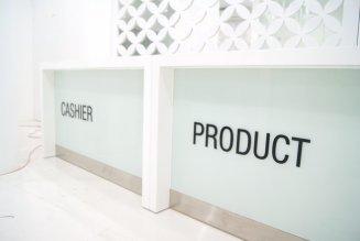 Stiker Cutting Nama Desk Profira Makassar