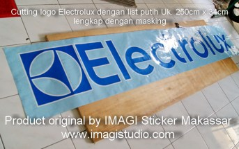 Cutting Sticker Logo Electrolux