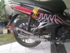 stiker striping motor