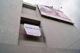 Signboard Fronlit Trans Vision 2x2 Meter di Gd. Telkom Jl. Kakaktua Pesanan Transvisio Pusat Jakarta