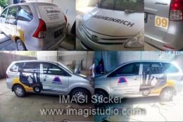 Branding Sticker Mobil New Xenia Pesanan Kobexindo jakarta