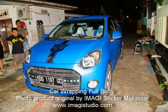 Car Wrapping Full Body Mobil Daihatsu Ayla