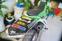 Stiker Spakbor Belakang Motor KLX
