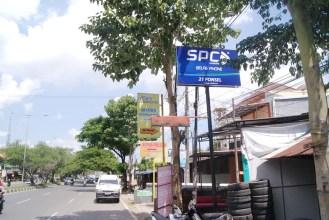 Billboard-SPC-Mobile-di-21Cell-Tamalanrea-Makassar