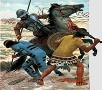 Abb. 8: Nuño Beltrán, Gefecht