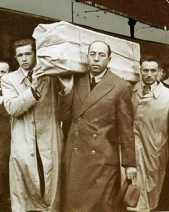 Abb. 28: Rückkehr des Grabtuches nach Turin