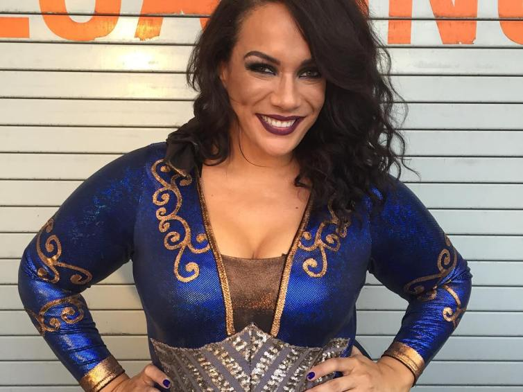 Nia Jax has a winning smile