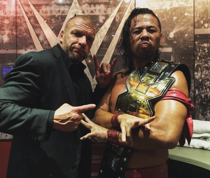 What does the WWE have planned for Shinsuke Nakamura in 2017?