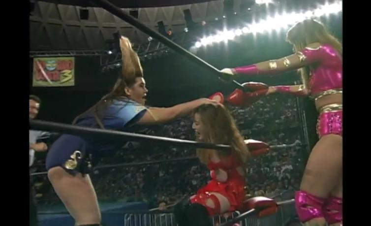 Bull Nakano kicks ass in AJW