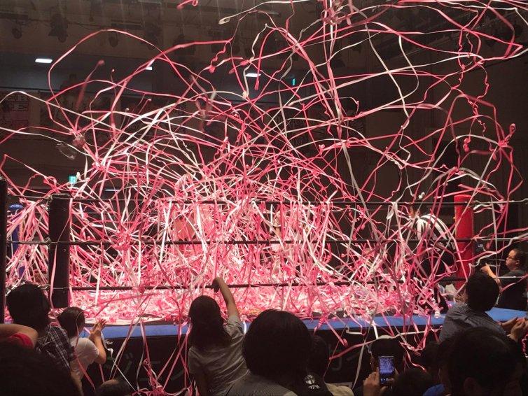I Am the Future: Miyu Yamashita v Meiko Satomura, Tokyo Joshi Pro Wrestling, Korakuen Hall, 28/08/17