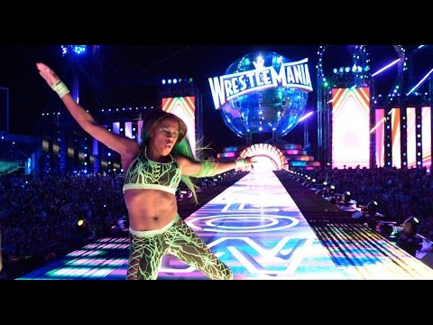 Naomi at WWE Wrestlemania 33