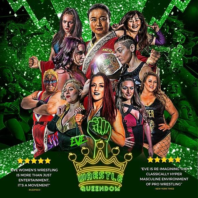 Poster for Pro Wrestling: EVE Wrestle Queendom