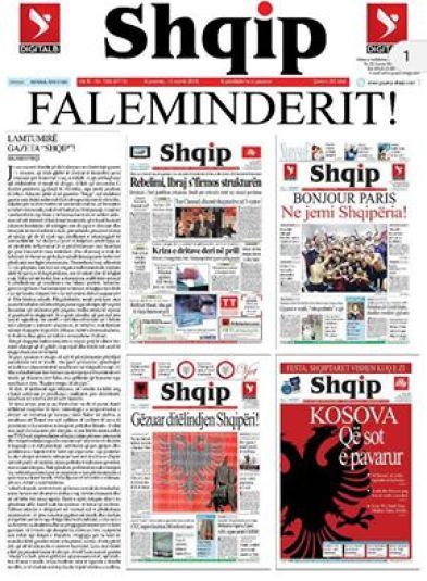 gazeta shqip numri fundit