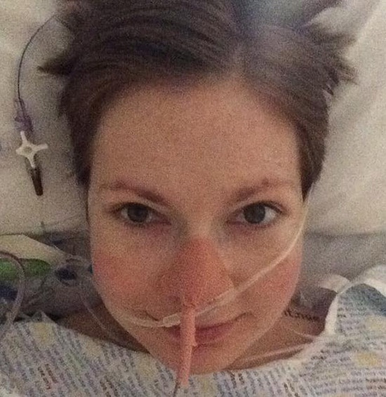 In recovery post-op