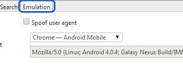Google Chromeを最新バージョンにしたら、デベロッパーツールのユーザーエージェントを変更する方法がかわった