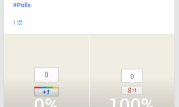 【Google+にアンケート機能が登場!】手軽にアンケートできるようになった