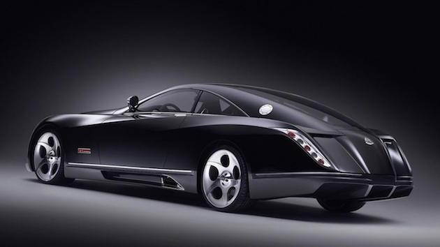 Resultado da imagem para o Mercedes-Benz Maybach Exelero