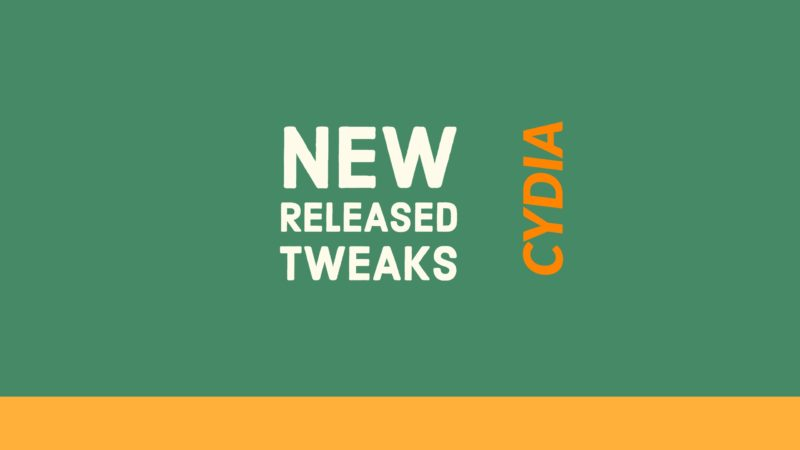 "New Released ""Cydia Tweaks of this Week "" for iOS 10.3.3/10.3/10.2/10.2.1/10"