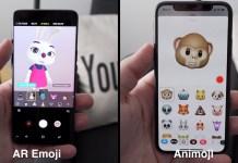 Animoji Vs AR Emoji