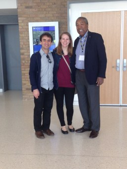 With Cellist/Conductor Anthony Elliott and Deborah Grimmett at University of Michigan School of Music