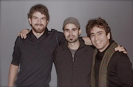 Winners of SOCAN Foundation Awards for Young Audio-Visual Composer - From Left to Right: Matthew Rogers, Adam Lastiwka, Iman Habibi, 2011