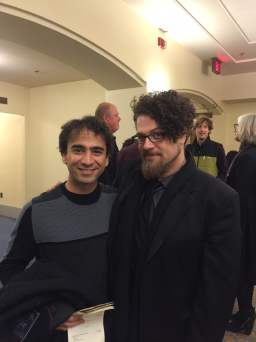 David T Little and Iman Habibi Composers