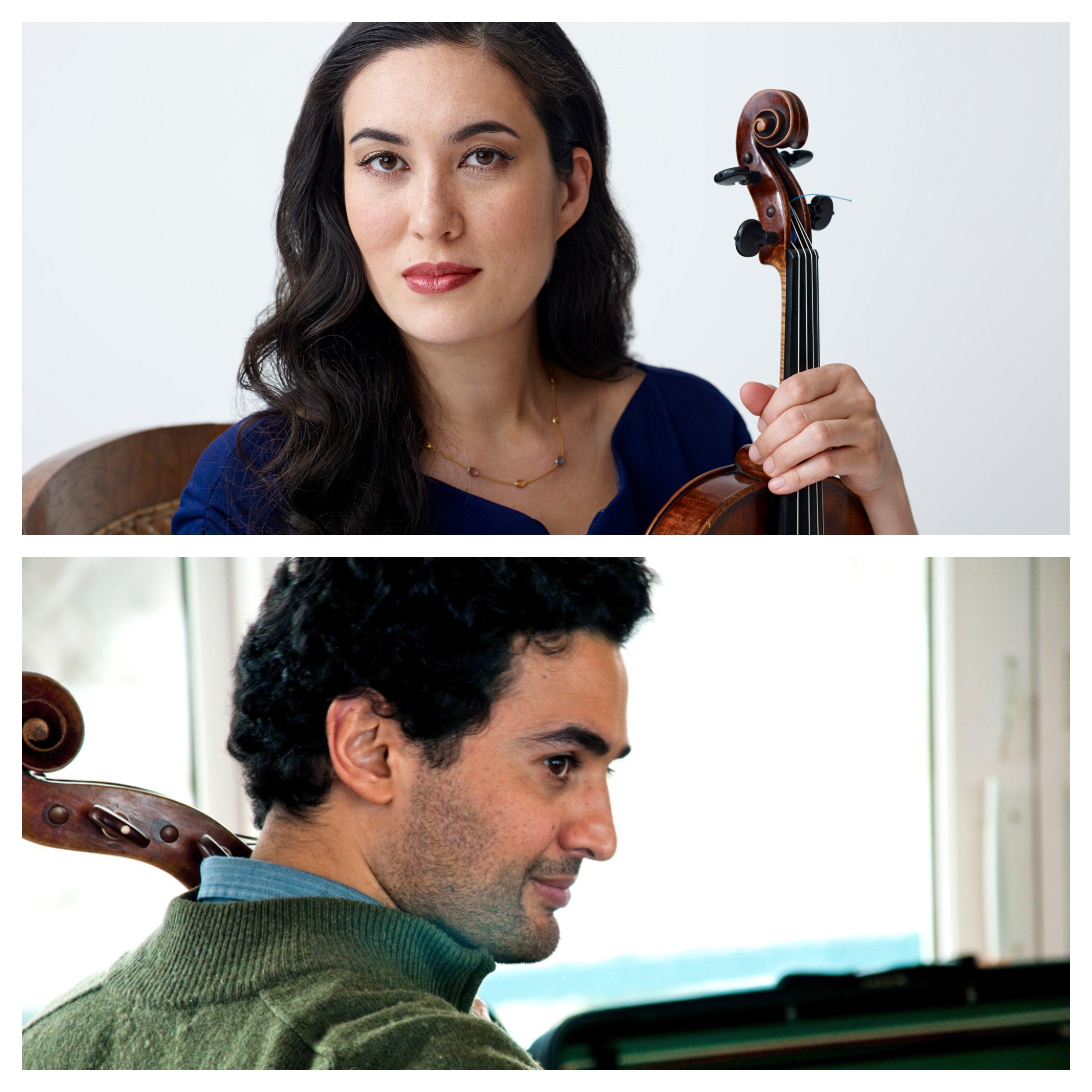 Melissa and Raman Viola and Cello